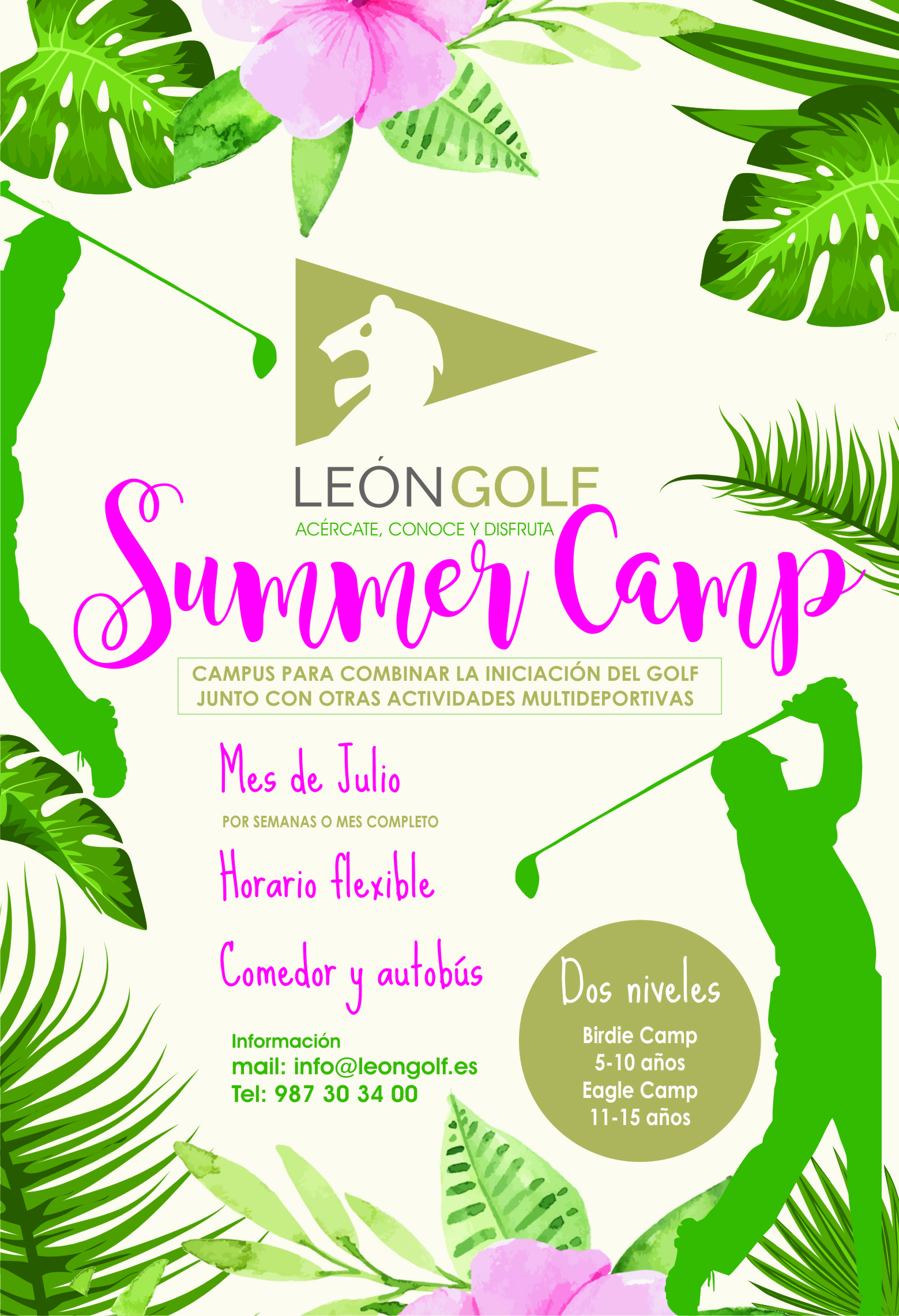 SUMMER CAMP LEÓN GOLF