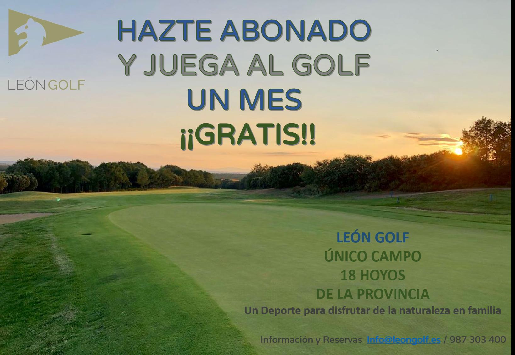 HAZTE ABONADO Y JUEGA UN MES ¡¡GRATIS!!